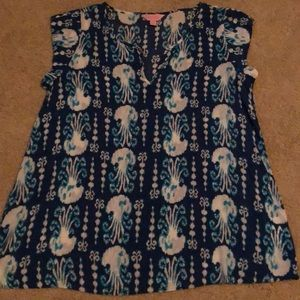 Lily Pulitzer Patterned Shirt